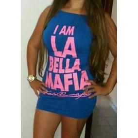 Vestido Saia Feminino La Bella Mafia Lançamento