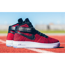 Air Force One Flyknit Low Corte Alto Mid Dama Y Caballero