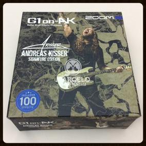 Zoom G1on Ak Pedaleira Guitarra Andreas Kisser 75 Efeitos!