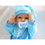 Bebé Bebote Real Recién Nacido Con Chupete Varón
