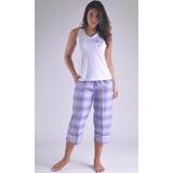 Pijama Swamy Capry Manga Sisa Femenina Mujer C0963 192060da10d2