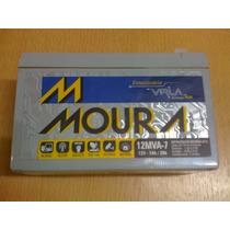 Bateria Moura 12v 7ah Gel Agm Alarma Ups Emergencia Apc 7a
