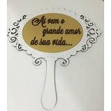 Placa Frase Noiva Para Casamento (cada)