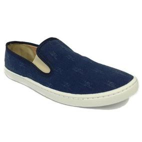 40%off Tênis Iate Sua Cia Azul Jeans Destroyed Schutz 10565t