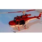 Bombeiro Helicóptero Antigo 30 Cm Vintage Decora Vitrin Loja
