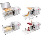 Kit 4x1 Masseira Misturador Moedor Carne Cilindro E Extrusor