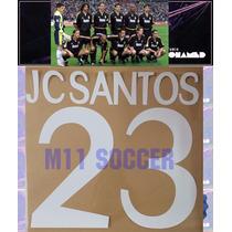 Estampado Real Madrid Visita 98-99, Jc Santos #23