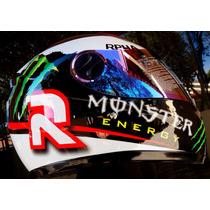 Capacete Monster Energy Rpha Jorge Lorenzo Premium