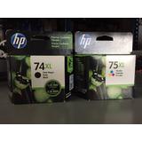 Hp 74xl Cb336wl + 75xl Cb338wl Originales - Printersup