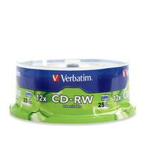 Cd-rw 80min/700mb 12x Vbtm (pqte 25 Pzas)