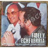 Documental. Fidel Castro Y Luis Echeverria, Disco Triple, Lp