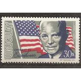Uruguay Yvert 368 Dwight Eisenhower Serie Aereo Mint