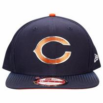 Boné Chicago Bears Snapback Draft Oficial Aba Reta - New Era