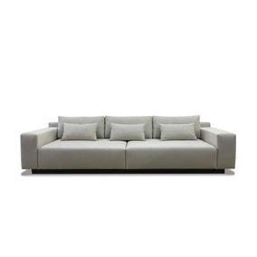 Sofa 4 Lugares 2.80m - Modelo Bs 01 - (tecido Linho)