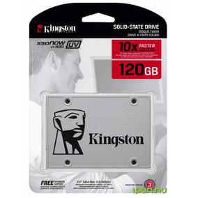 Hd Ssd 120 Gb Sata 3 Kingston Uv400 A400 10x + Rápido Sandis