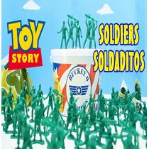 Balde Soldadinhos De Guerra Original Toy Story Para Meninos