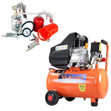 Compressor Ar 25 Lts 110v Vc-25 + Kit Pintura 5 Pçs 271977
