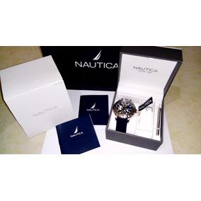 Reloj Box Set Nautica Nai17512g Nuevo, Original, C/garantía