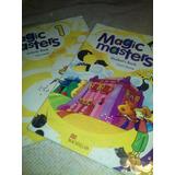 Libro Ingles Magic Masters 1 _ Libro+ficha Actividades