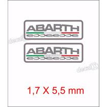 Emblema Adesivo Resinado Fiat Abarth Esseesse Coluna Rs09