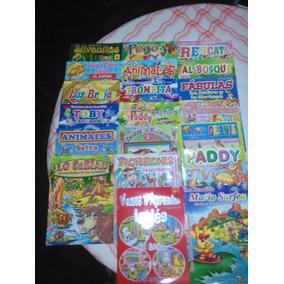 Lote Libros De Cuentos Infantiles Con Stickers 100 Unidades