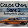 Calco Cupe Chevy 74 Serie 2 Remo Calcomania Ploteoya!