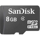 Cartão Micro Sd 8gb Celular Mp90 Hiphone 5c Mp3 Mp4 Mp5 Mp7
