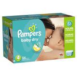 Pampers Baby Dry Etapa 4 - 128 Pañales