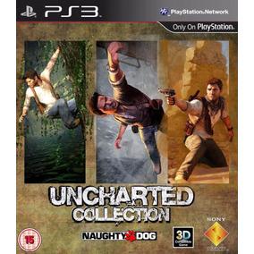 Uncharted Ps3 Collection | Digital Español 3 En 1 Hay Stock!
