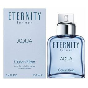 Perfume Eternity Aqua Calvin Klein Masculino Edt 100ml Fte G