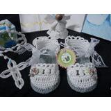 Sandalias Blancas Bebé,bautizo,matrimonio,fiesta.t.6/12meses