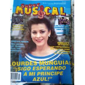 Revista Super Musical - Lourdes Munguia / Rebecca De Alba