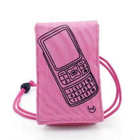 Capa Porta Celular Ícone Rosa Ipod