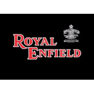 Bandeira Royal Enfield -  - Em Oxford 100% (selada A Laser)