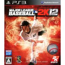 Major League Baseball 2k12 Mlb Ps3 Novo Midia Fisica