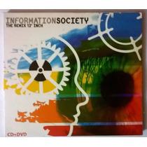 Information Society The Remix 12 Inch Cd+dvd Raro Novo Lacra