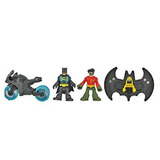 Juguete Fisher Price Imaginext Súper Amigos Batman Baticuev