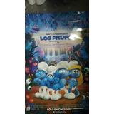 Póster De Cine Original Los Pitufos