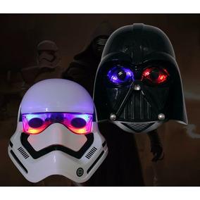 Star Wars 2 Máscaras Darth Vader E Stormtrooper Frete Grátis