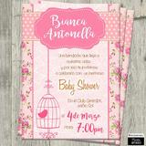 Invitaciones Digitales Personalizadas Baby Shower De Niña