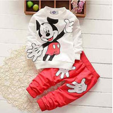 Pijama Bebê Importado Mickey De3-4 Anos