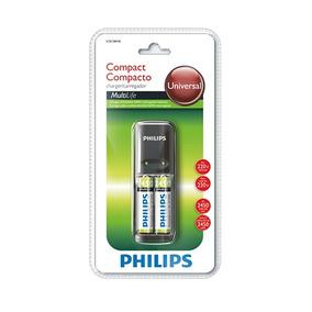 Carregador De Pilha Aaa E Aa C/2 Pilhas Aa 220v - Philips