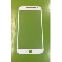 Cristal Glass Touch Moto G4 Plus Xt1640 Xt1641 Xt1644 Blanco