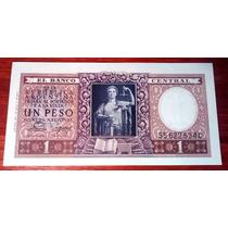 1955 - 1 Peso Moneda Nacional - C - B1914 - Justicia