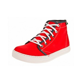 Zapatillas Siamo Fuori Leonardo Rojo