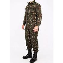 Farda Camuflada Padrão Exército Brasileiro