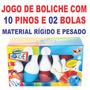Jogo De Boliche Infantil 12 Pçs -brinquedos Preço De Atacado