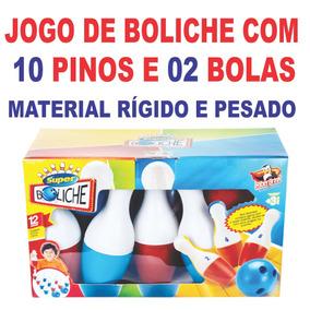 Jogo De Boliche Infantil 12 Peças Melhor Preço Do Brasil