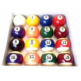Promoção 16 Bolas De Bilhar Profissional Jogo Snooker Sinuca