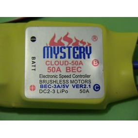 Esc 50a Mystery Com Bec - Speed Control Rc - Original